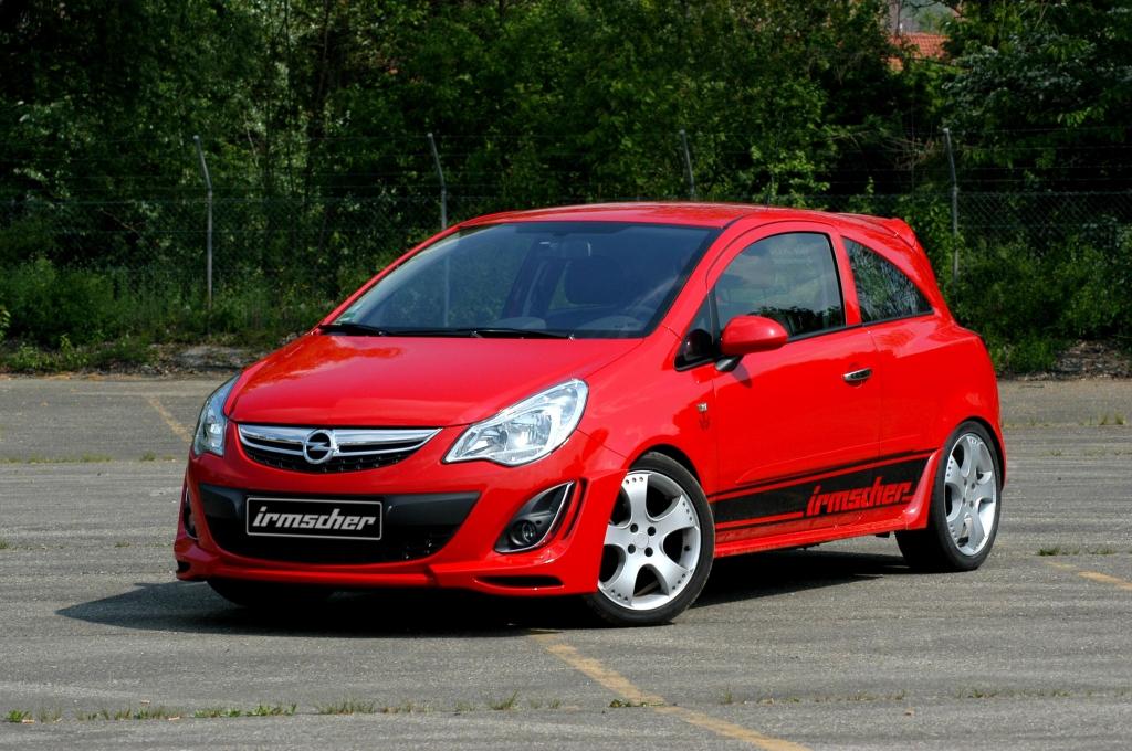 Opel Corsa: Neuer Frontspoiler von Irmscher