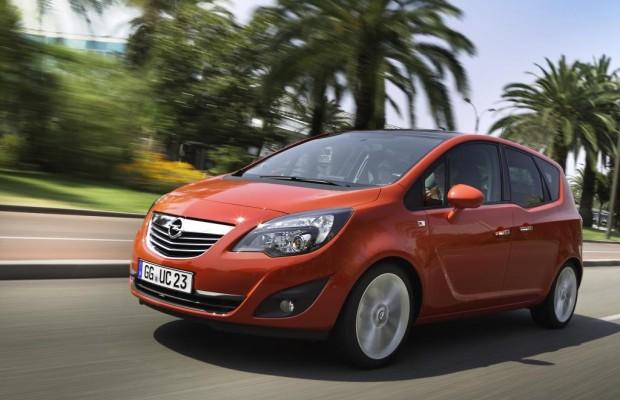 Opel Meriva führt im Segment der kompakten Vans