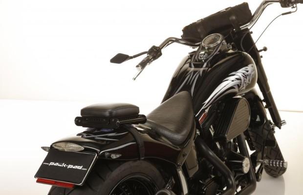 Packpad bietet Transportlösung für Custombiker