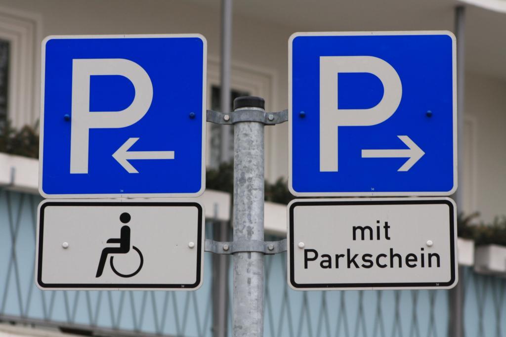 Parken und Recht - Behindert nur mit Original-Ausweis