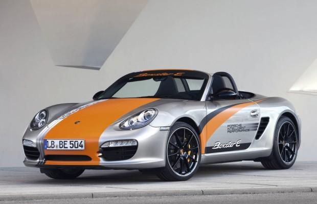 Porsche Boxster E - Sauberes Vorspiel