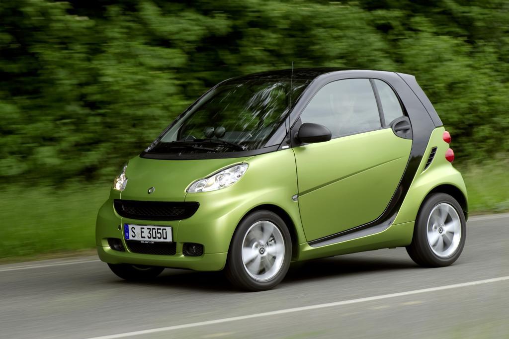 Smart hat den kleinsten Diesel im Angebot