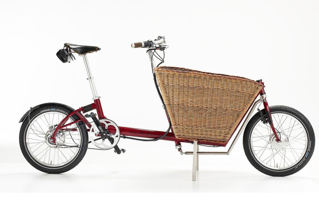 Sogar als großzügiger Transporter ist das E-Bikes zu haben