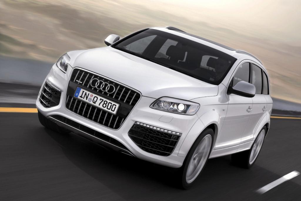 Stärkster Diesel ist der V12 aus dem Audi Q7 mit 1.000 Nm