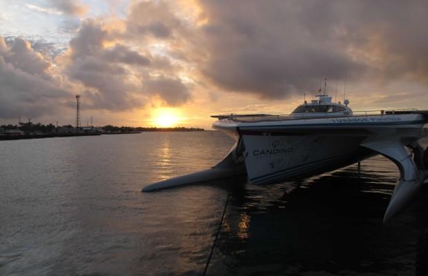 TÛRANOR PlanetSolar auf Tonga eingetroffen