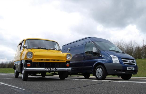 Tradition: 50 Jahre Ford Transit - Rotkäppchen auf Rekordkurs