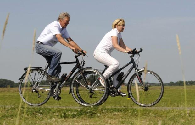 Unfallzahl bei älteren Radlern steigt