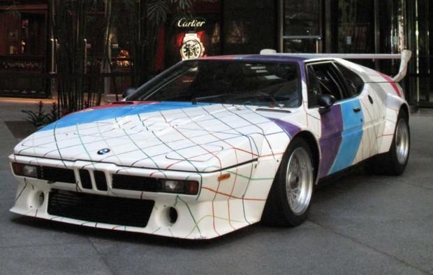 Unterm Hammer: BMW M1 Artcar von Frank Stella