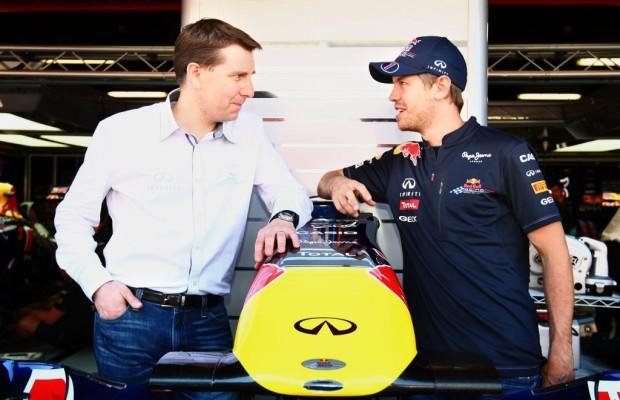 Vettel erster offizieller Infiniti-Markenbotschafter