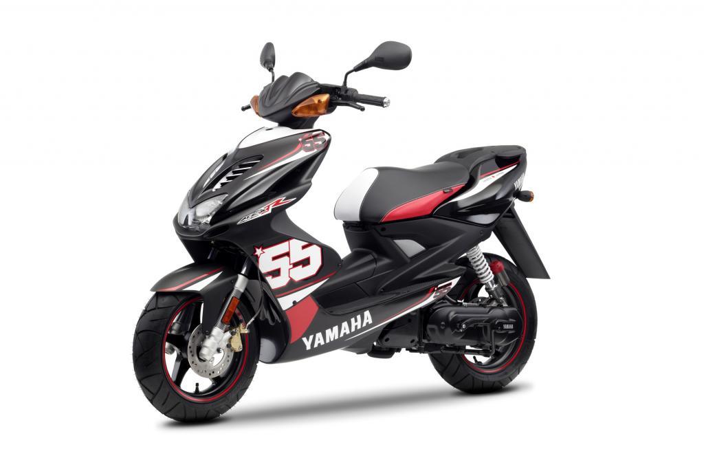 Yamaha Roller Aerox SP55 - Gruß an die 50er