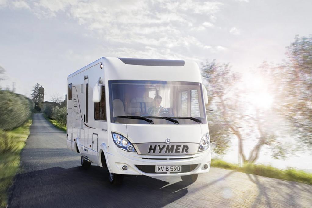 Zu Preisen ab 80 990 Euro schickt Hymer ein neues Reisemobil auf den Markt.