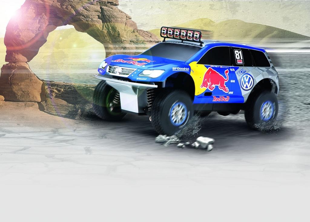 auto.de Gewinnspiel: Race Touareg zum selber fahren