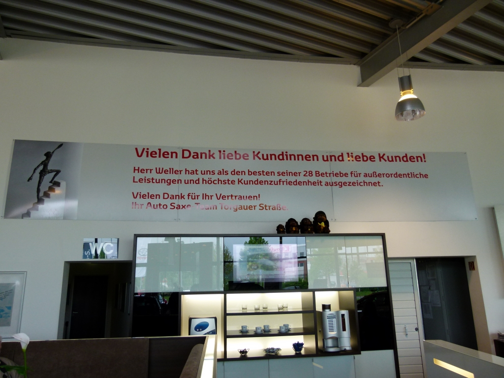 """auto.de fragt nach: """"Autos verkaufen ist nicht Männersache, sondern Könnersache!"""" - Die Wellertreppe 2010 - Auszeichnung für gute Leistungen"""