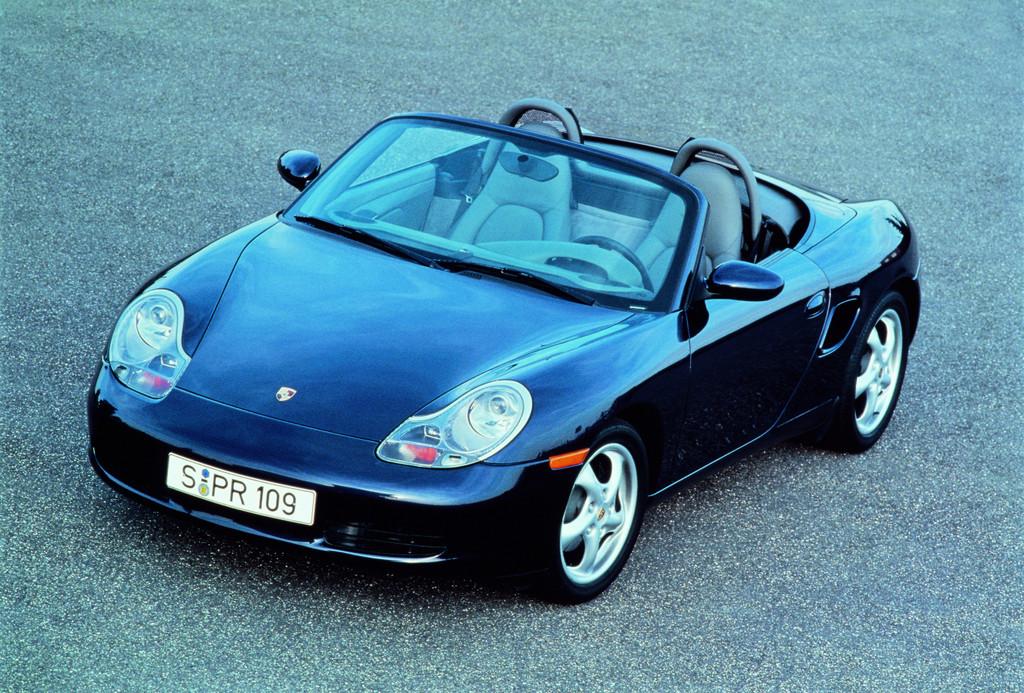 Über 300 000 Porsche Boxster und Cayman produziert.
