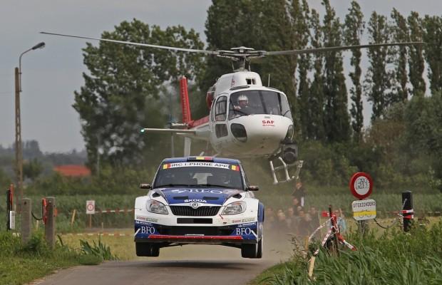 Škoda gewinnt die Rallye Ypres