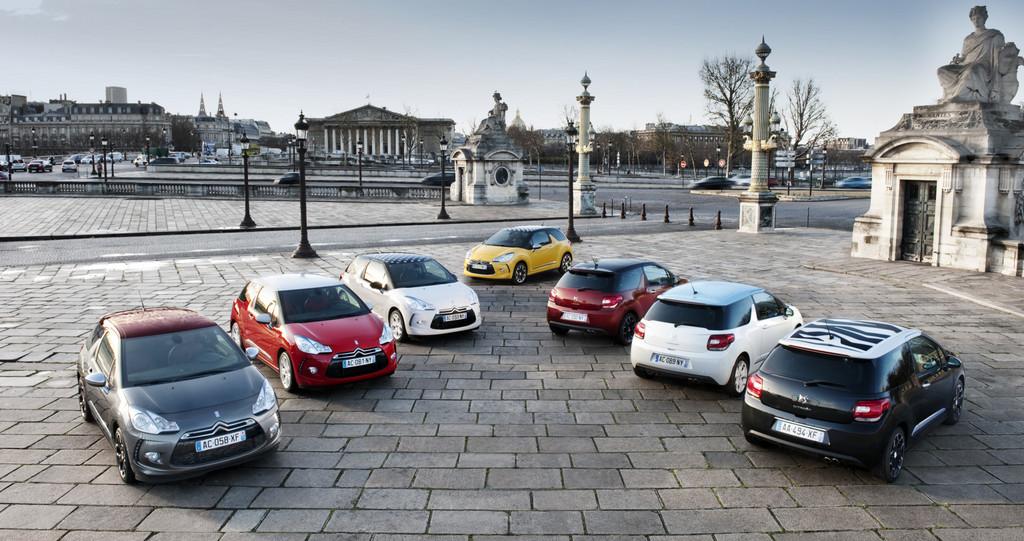 100 000ste Bestellung eines Citroën DS3