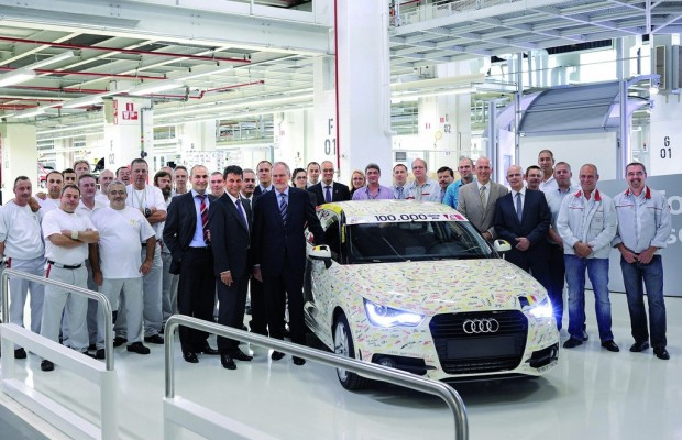 100 000ster Audi A1 lief vom Band