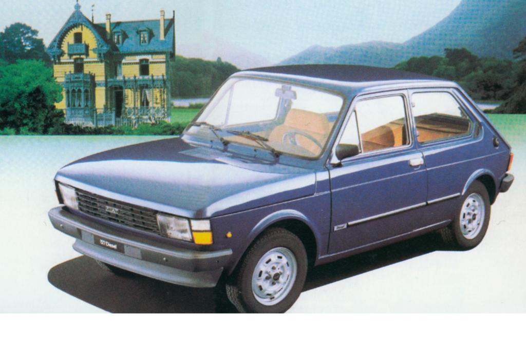 1981 gab es auch einen sparsamen Diesel