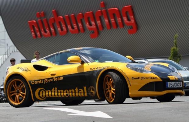 24-Stunden-Rennen: Continental setzt Artega GT ein