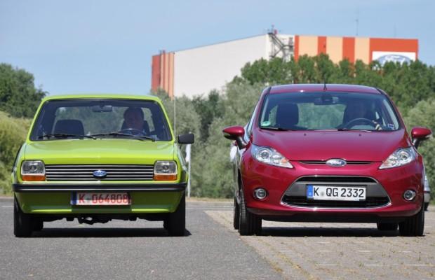35 Jahre Ford Fiesta - Generationen-Treffen