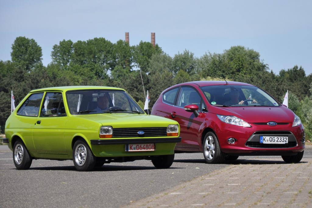 35 Jahre liegen zwischen den beiden Autos