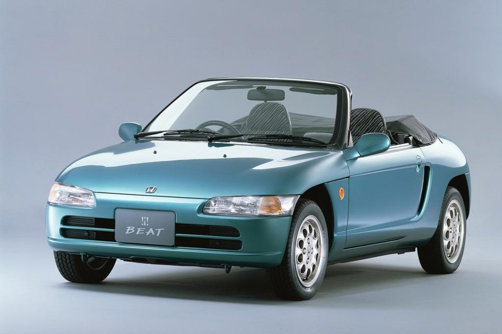 Auch Honda hatte mit dem Beat einen Roadster im Programm