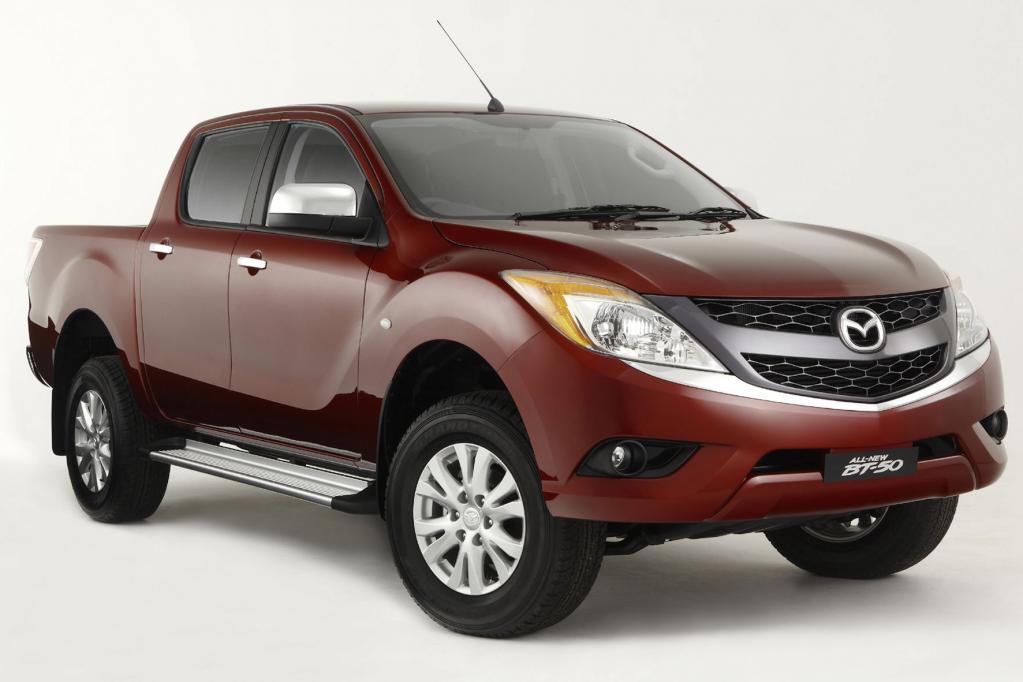 Auch der neue Mazda BT-50 rollt erst Ende des Jahres in die Händler-Schauräume.