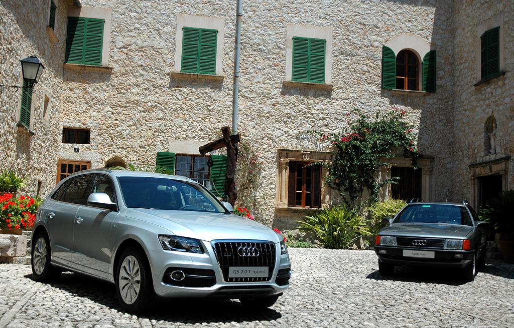 Audi Q5 Hybrid Quattro: Erstes Hybridmodell der Ingolstädter war 1997 der ...