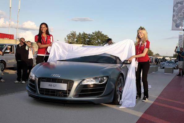 Audi R8 GT Spyder - Das matte Geschoss