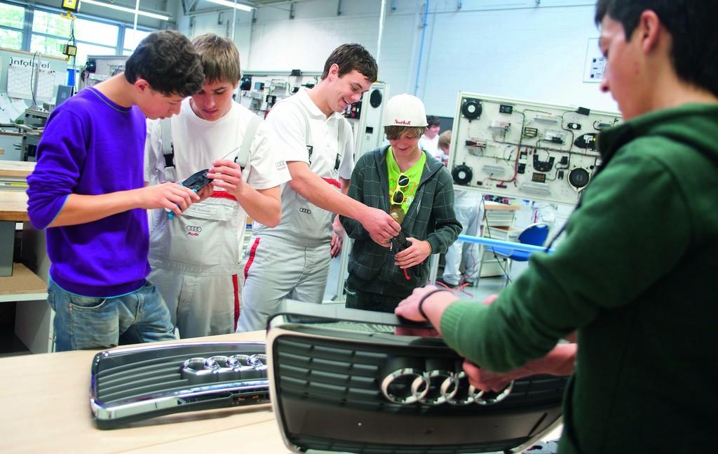 Audi startet Bewerbung für das Ausbildungsjahr 2012