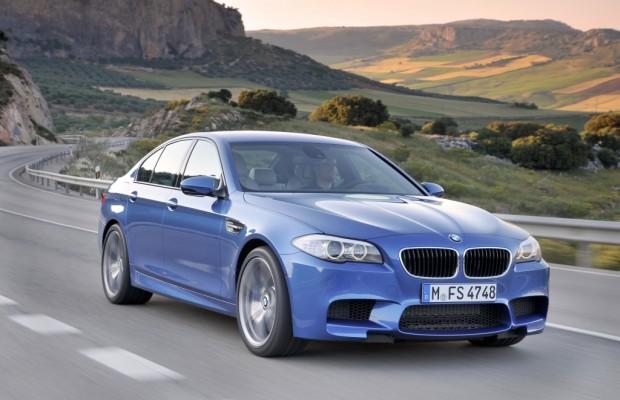 BMW M5 mit neuem Hochleistungsmotor