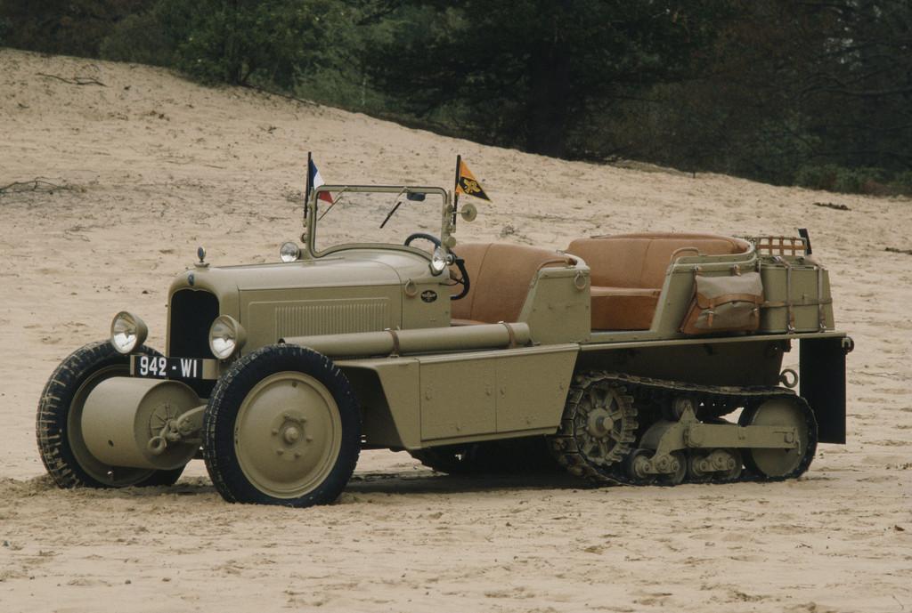 Citroën C4 Kégresse.