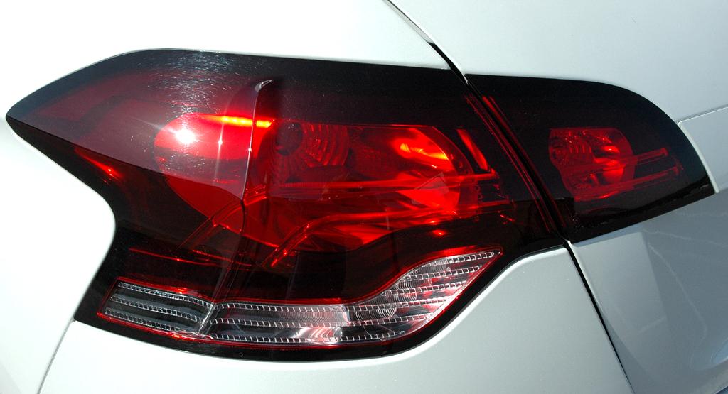 Citroën DS4: Moderne Leuchteinheit hinten.