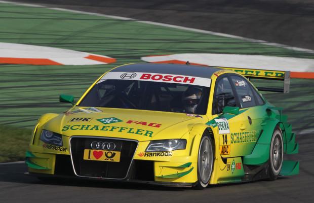 DTM: Audi greift nach der Tabellenführung