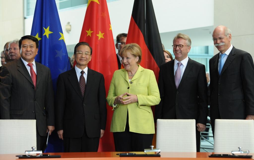 Daimler investiert kräftig in China