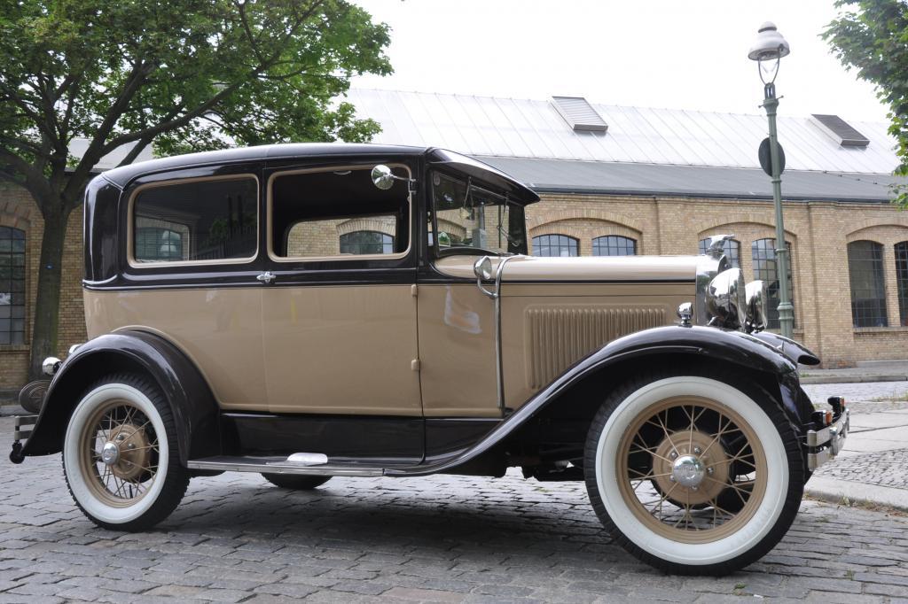 Das A-Modell war das erste Modell, das in Köln vom Band lief
