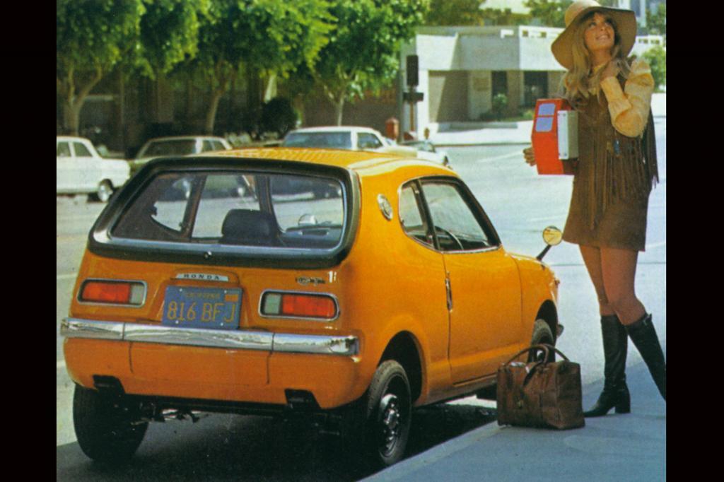 Das Honda Z Coupé von 1970