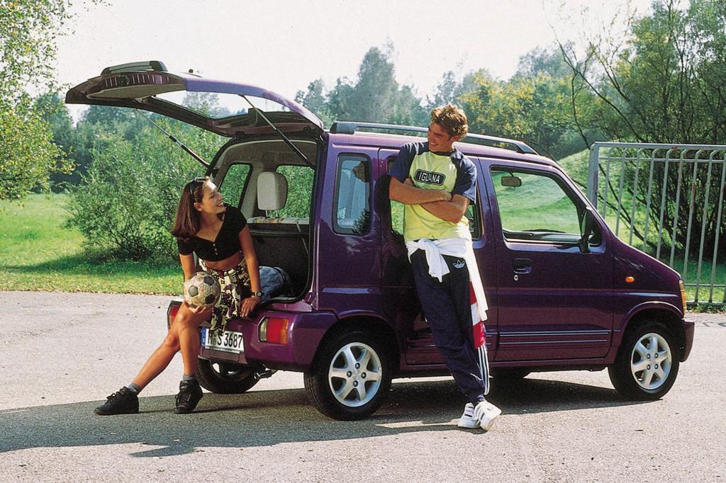 Den Suzuki Wagon R gab es auch in Europa