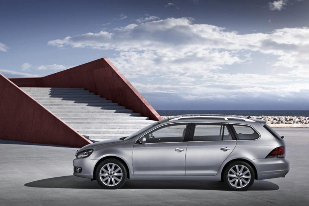 Den VW Golf Variant gibt es knapp über dem deutschen Neuwagen-Durchschnittspreis