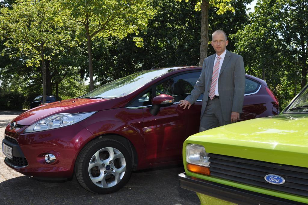 Den neuen Fiesta hat Beyer maßgeblich mitentwickelt