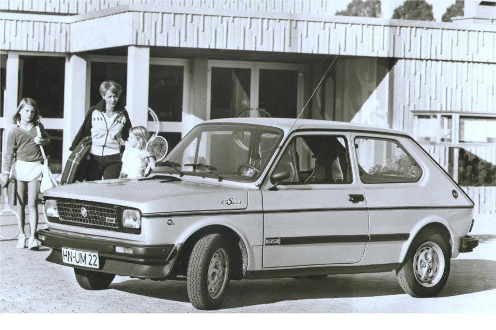 Der 127 in der Sport-Version im Jahr 1978