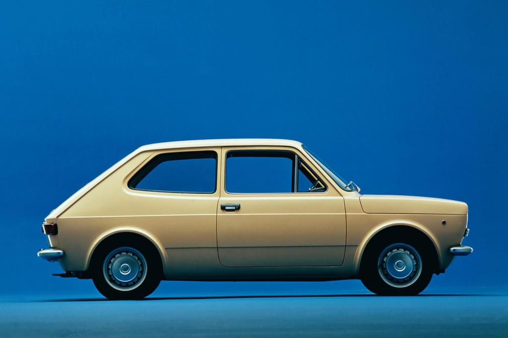 Der 127 war fast einen Meter länger als der Fiat 500