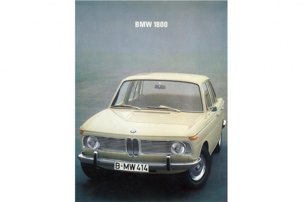 Der BMW 1800 im Jahr 1964