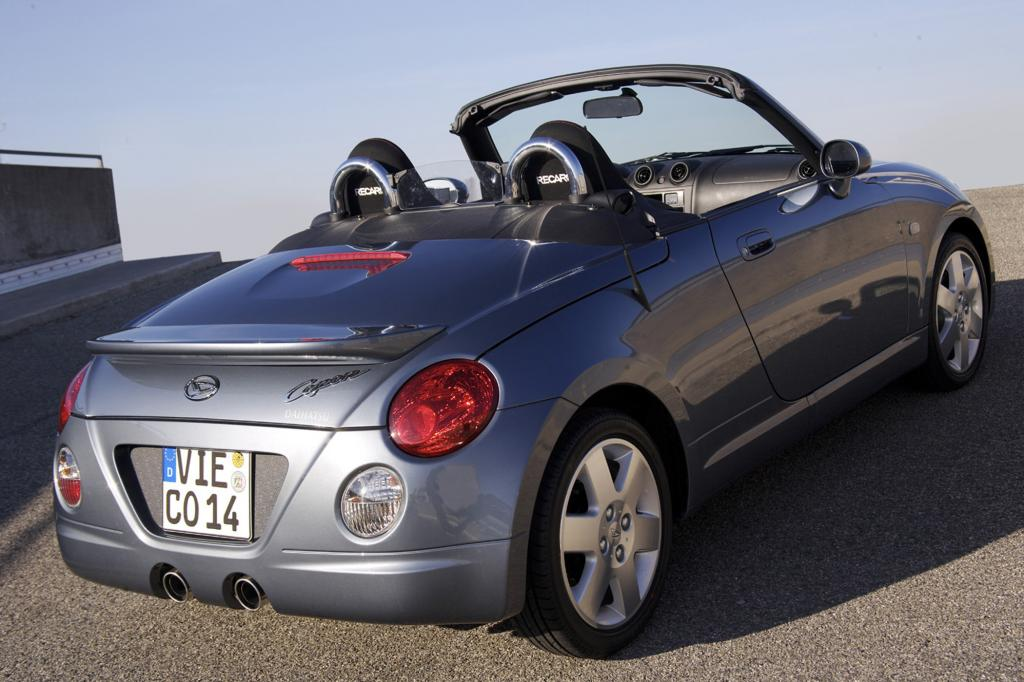 Der Daihatsu Copen ist in Europa ein Auslaufmodell