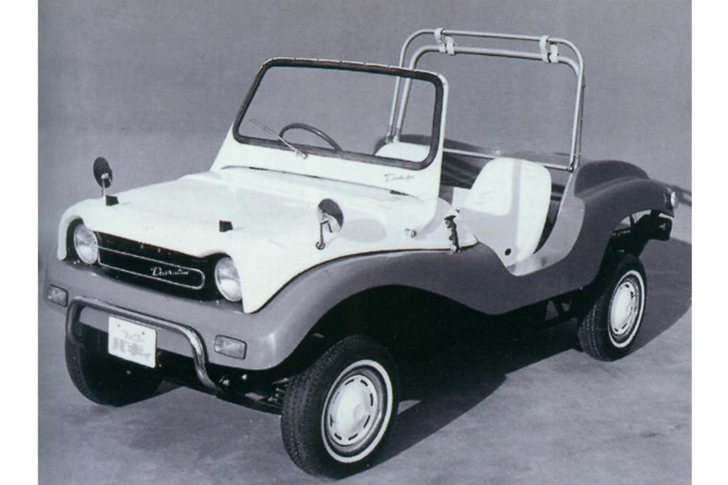 Der Daihatsu Fellow Buggy von 1968