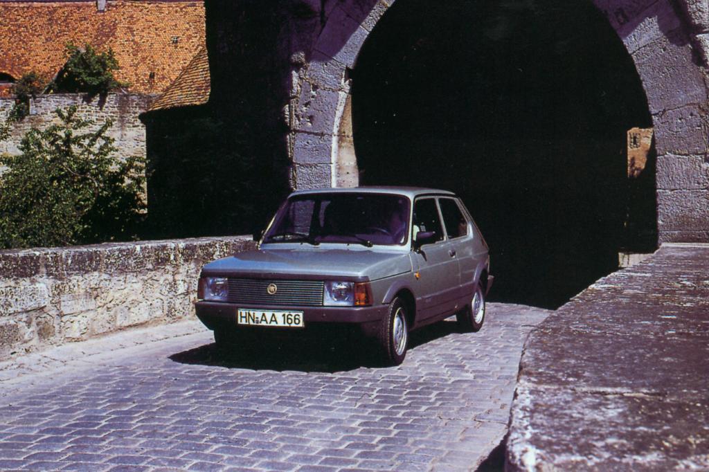 Der Fiat 127 Super auf großer Tour