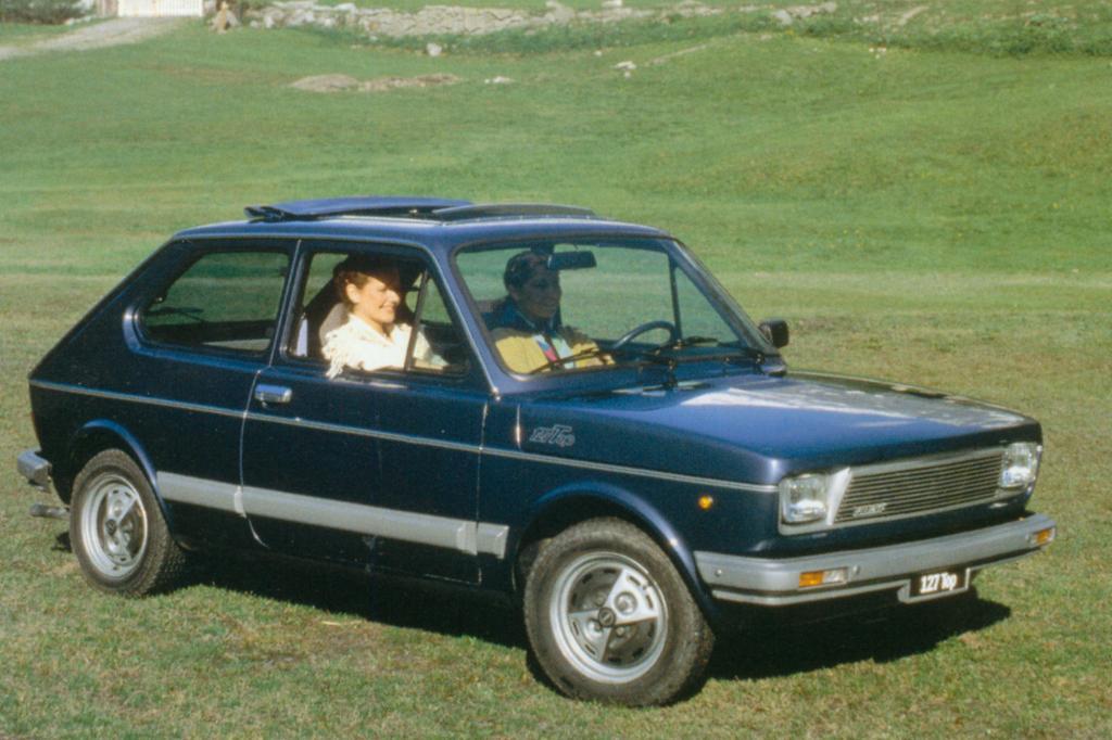 Der Fiat 127 war seinerzeit Europas meistverkaufter Kleinwagen