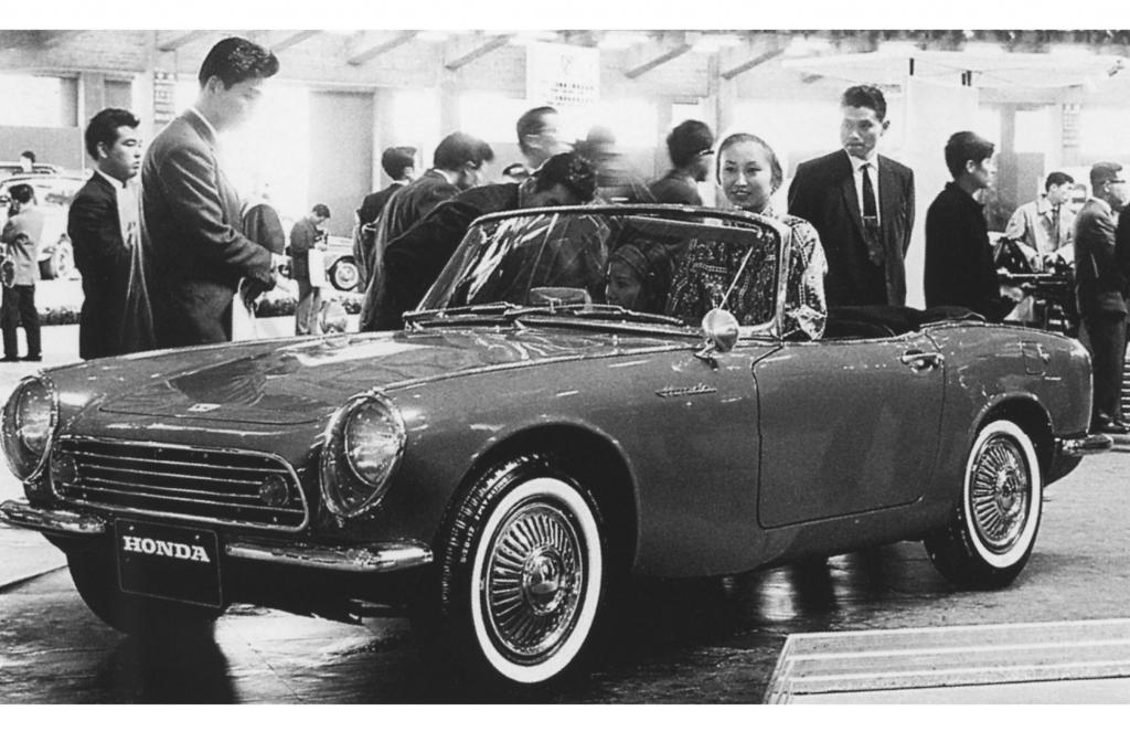 Der Honda S360 Roadster von 1962