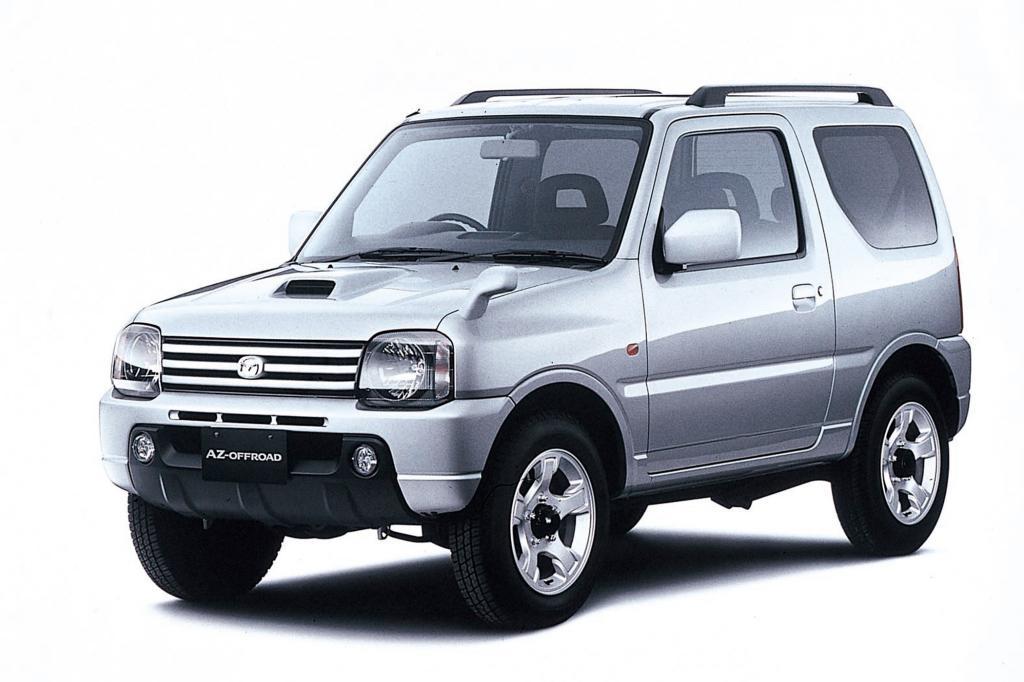 Der Mazda AZ Offroad von 2002