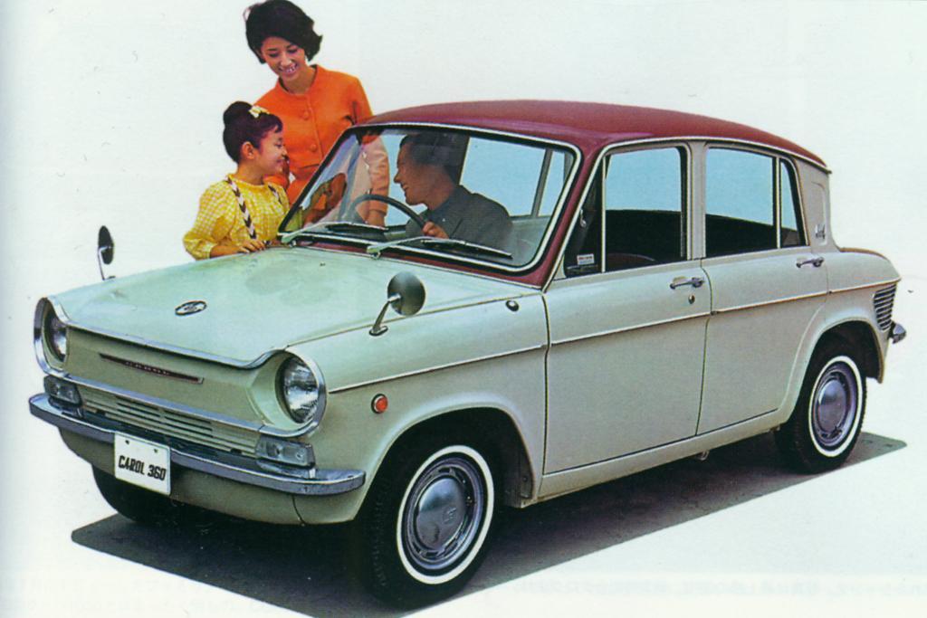 Der Mazda Carol 360 von 1966